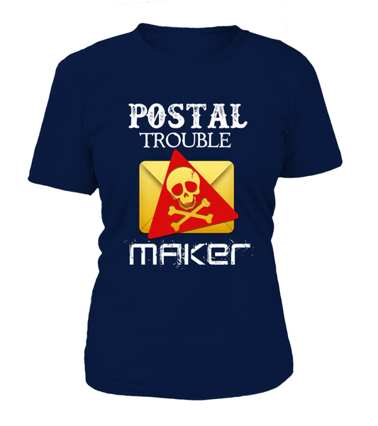 Postal Trouble Maker Shirt - Giggle Rich - 14