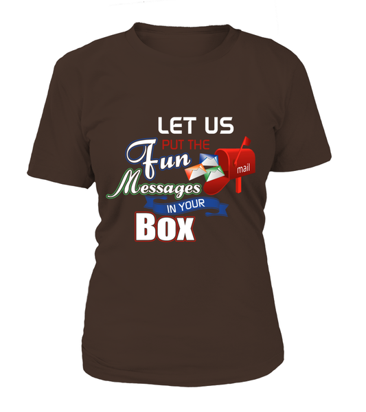 Postal Workers Put Messages In Your Box Shirt - Giggle Rich - 10
