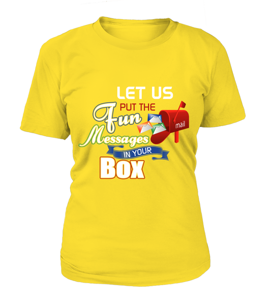 Postal Workers Put Messages In Your Box Shirt - Giggle Rich - 12