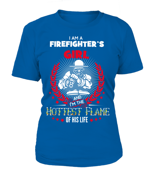 Firefighter's Hottest Flame Shirt - Giggle Rich - 10