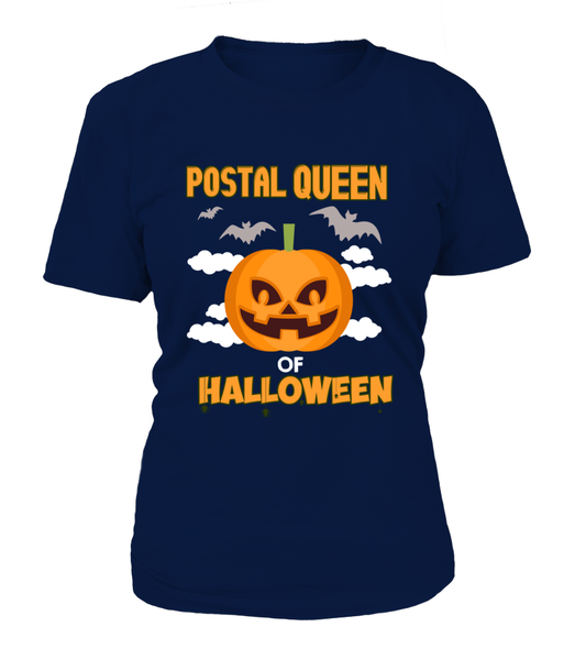 Postal Queen Of Halloween Shirt - Giggle Rich - 10