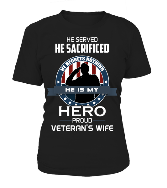 Proud Veterans Wife Shirt - Giggle Rich - 9