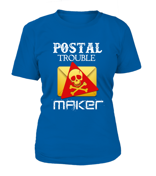 Postal Trouble Maker Shirt - Giggle Rich - 15