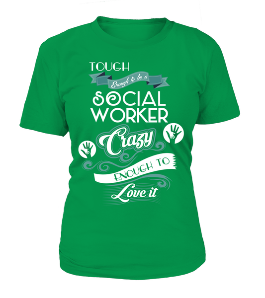 Tough Enough To Be A Social Worker Shirt - Giggle Rich - 11