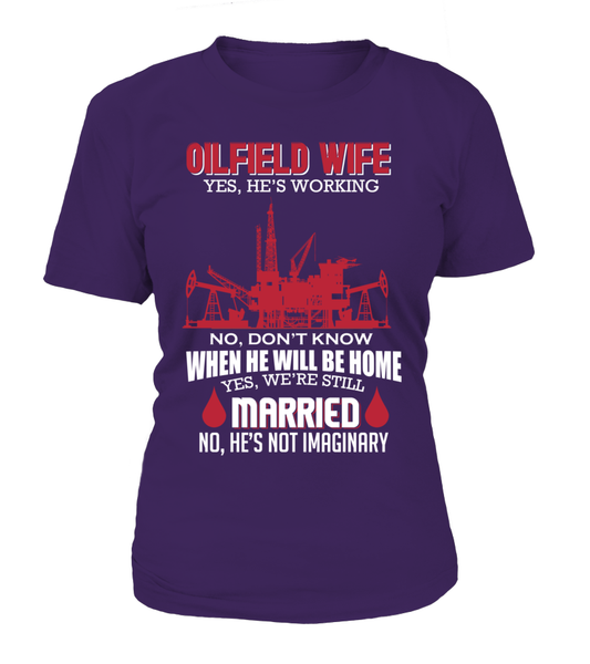 Married Oilfield Wife Shirt - Giggle Rich - 3