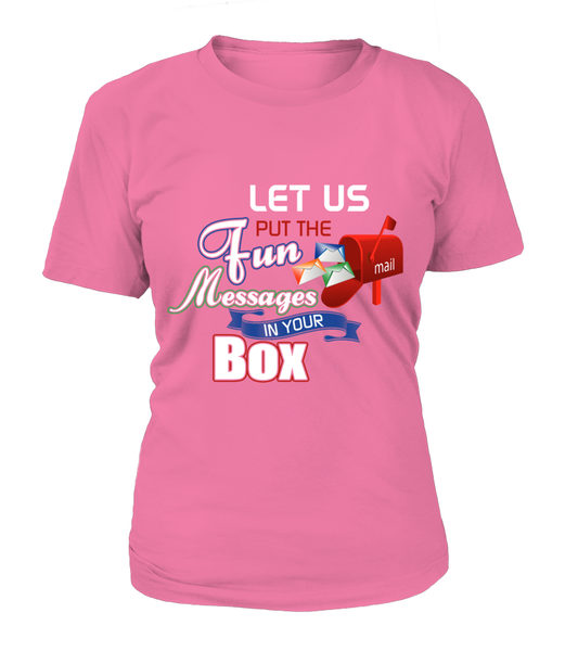 Postal Workers Put Messages In Your Box Shirt - Giggle Rich - 8