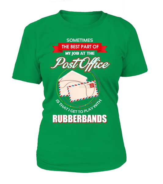 Post Office Rubberbands Shirt - Giggle Rich - 15