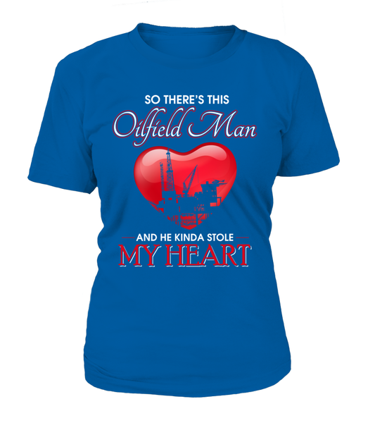 Oilfield Man Heart Shirt - Giggle Rich - 4