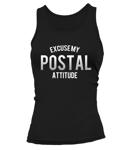 Excuse My Postal Attitude Shirt - Giggle Rich - 8