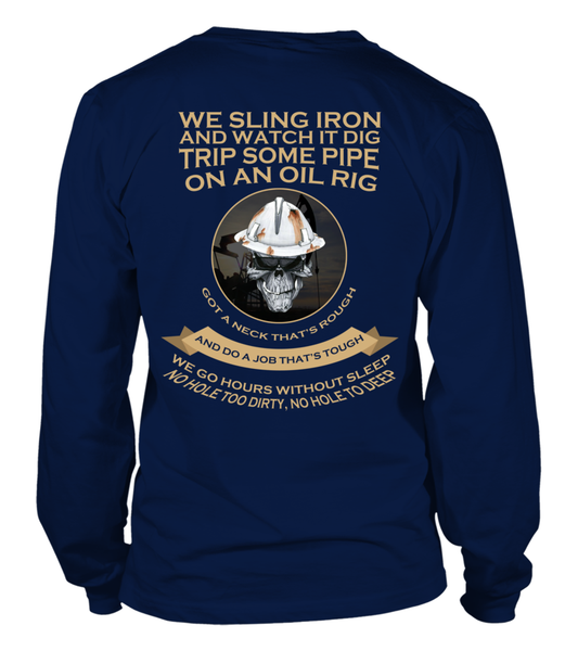 Roughnecks Rig Poem Shirt - Giggle Rich - 16