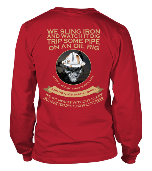 Roughnecks Rig Poem Shirt - Giggle Rich - 12