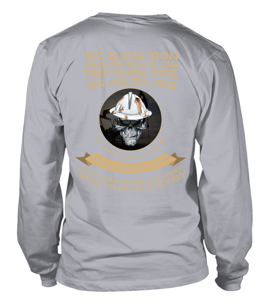 Roughnecks Rig Poem Shirt - Giggle Rich - 14