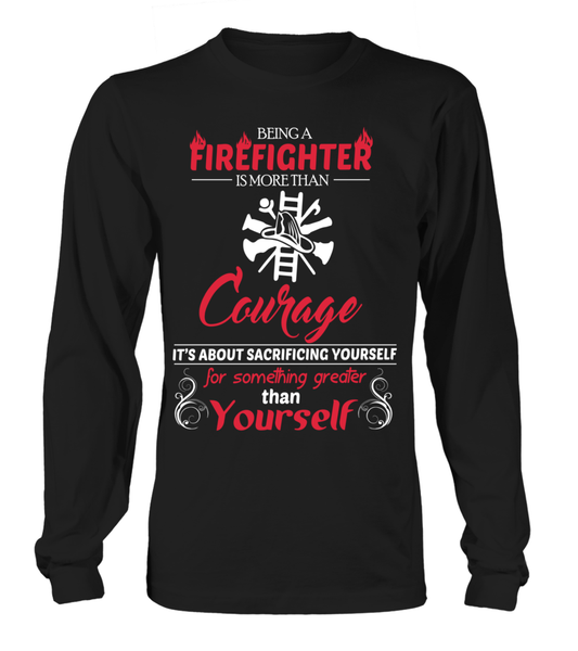 Firefighter Courage Shirt - Giggle Rich - 1