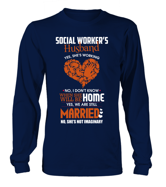 Social Workers Husband Shirt - Giggle Rich - 16