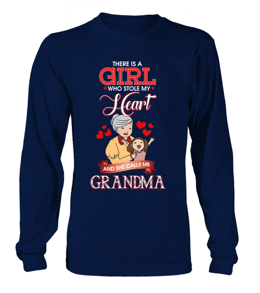 There Is A Girl Who Stole My Heart And She Calls Me Grandma