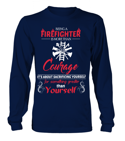 Firefighter Courage Shirt - Giggle Rich - 10