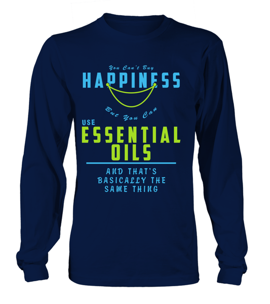 You Can't Buy Happiness But You Can Use Essential Oils