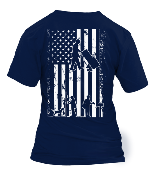 American Postal Worker Shirt - Giggle Rich - 30