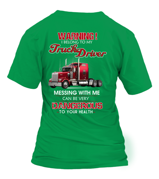 Don't Mess With Truck Driver Shirt - Giggle Rich - 28