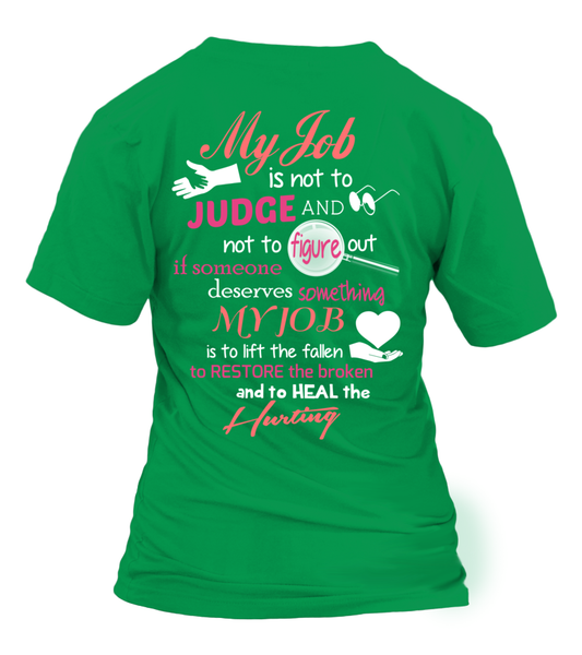 Paraprofessional Job Is Not To Judge Shirt - Giggle Rich - 31