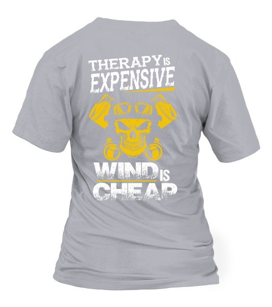 Therapy Is Expensive, Wind Is Cheap Shirt - Giggle Rich - 10