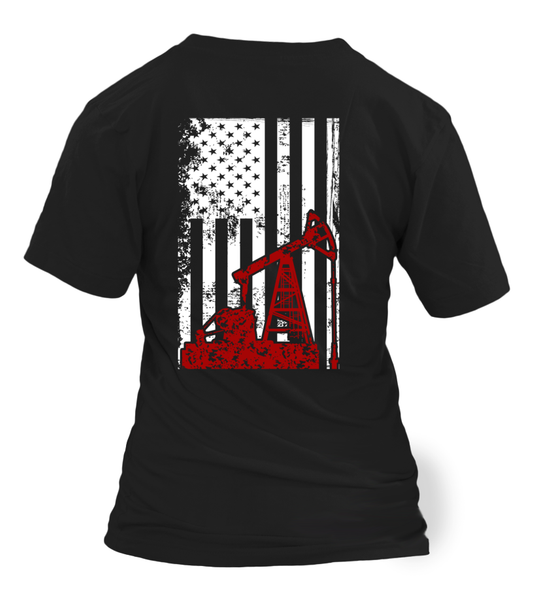 American Oilfield Worker Shirt - Giggle Rich - 11