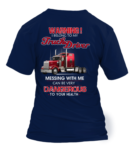 Don't Mess With Truck Driver Shirt - Giggle Rich - 24