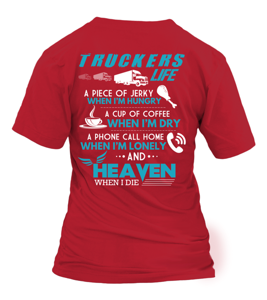 Truckers Life Shirt - Giggle Rich - 4