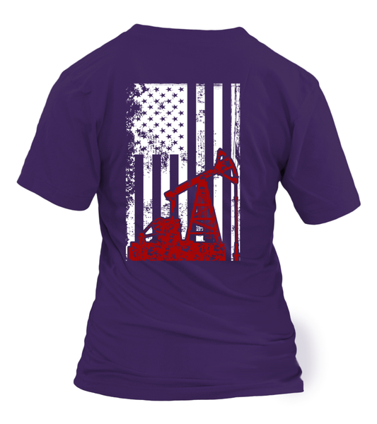 American Oilfield Worker Shirt - Giggle Rich - 13