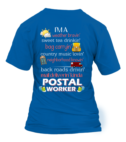 I'm A Postal Worker Shirt - Giggle Rich - 16