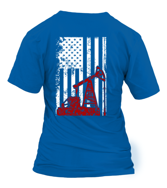 American Oilfield Worker Shirt - Giggle Rich - 15