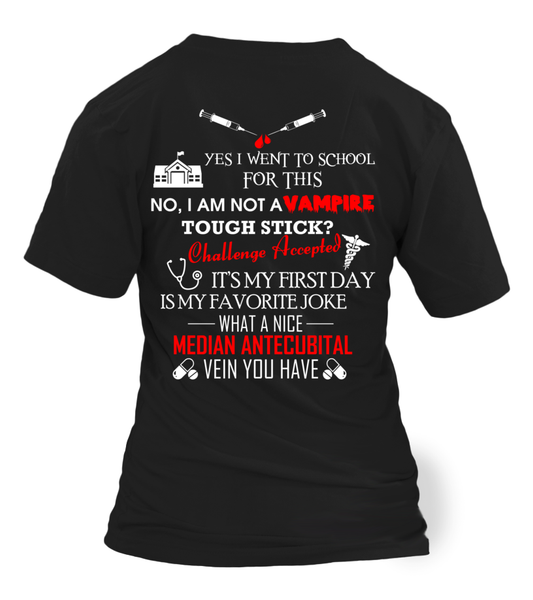 I'm Phlebotomist - Not A Vampire Shirt - Giggle Rich - 15