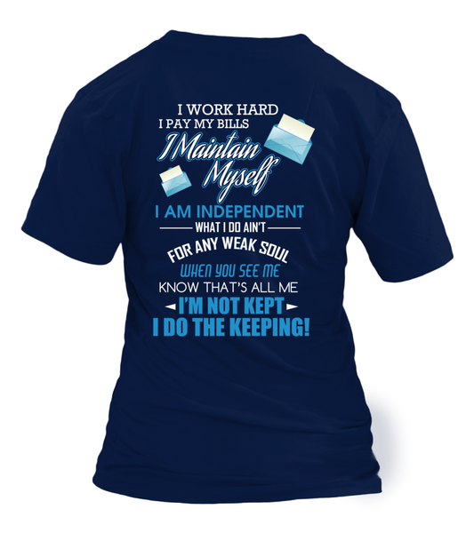 I Am An independent Postal Worker Shirt - Giggle Rich - 2