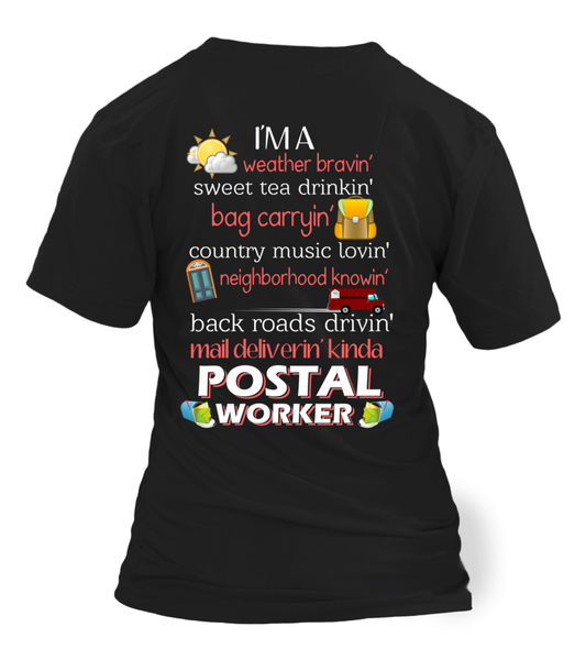 I'm A Postal Worker Shirt - Giggle Rich - 18