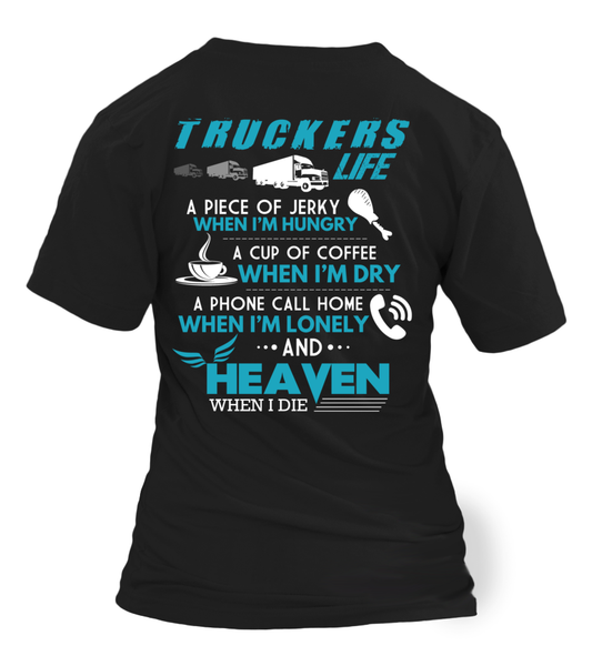 Truckers Life Shirt - Giggle Rich - 1