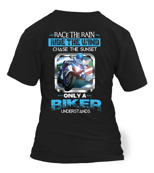 Only A Biker Understands, How to chase Everything Shirt - Giggle Rich - 1