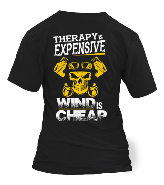 Therapy Is Expensive, Wind Is Cheap Shirt - Giggle Rich - 6