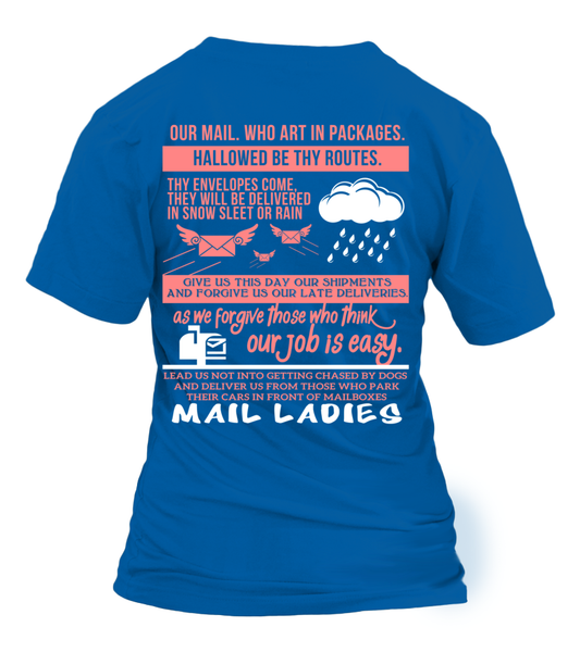 Mail Lady Prayer Shirt - Giggle Rich - 28