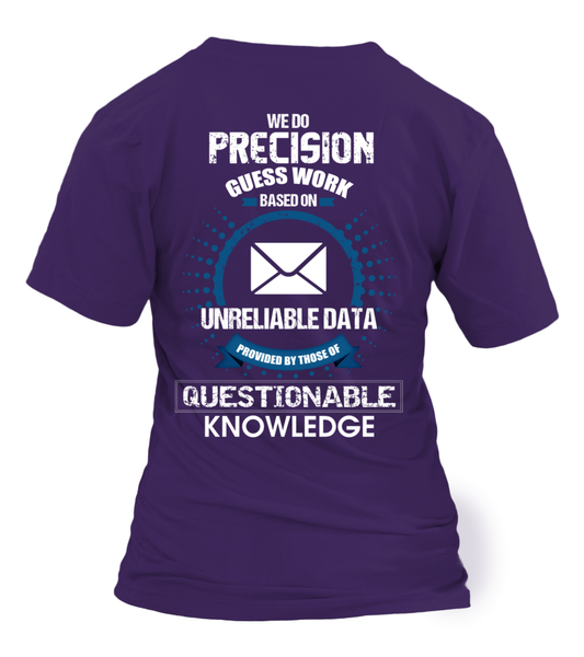 Postal Workers Do Precision Guess Work Shirt - Giggle Rich - 34