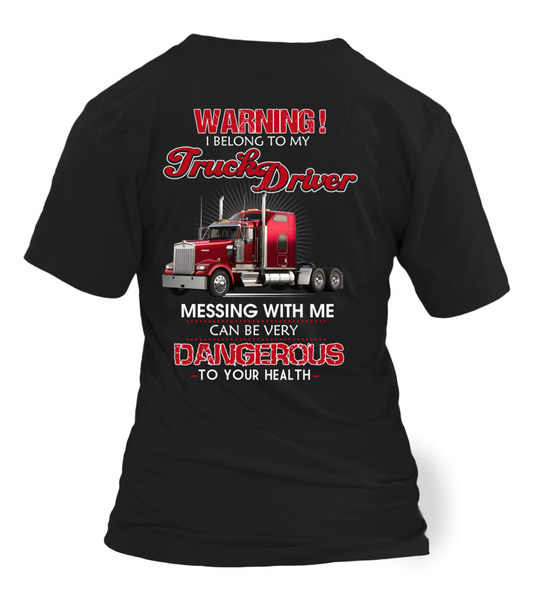 Don't Mess With Truck Driver Shirt - Giggle Rich - 22