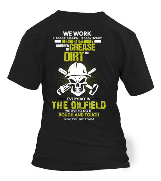 The Oilfield, Rough And Tough Shirt - Giggle Rich - 24