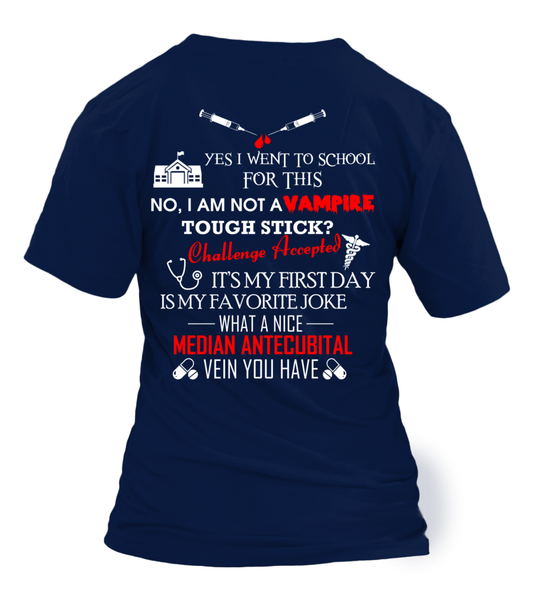 I'm Phlebotomist - Not A Vampire Shirt - Giggle Rich - 14