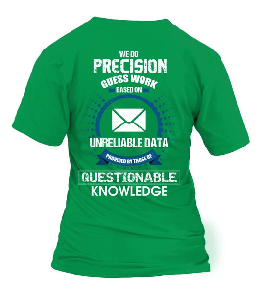 Postal Workers Do Precision Guess Work Shirt - Giggle Rich - 38