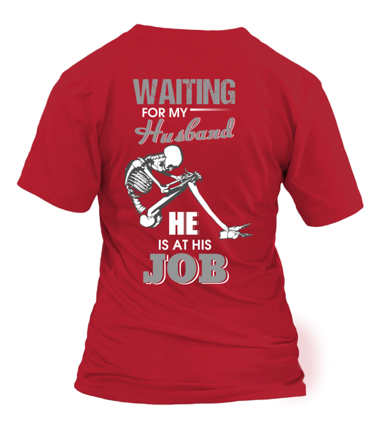 Roughneck Wife Waiting For Her Husband Shirt - Giggle Rich - 22