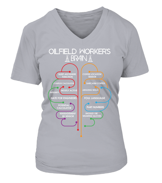 Oilfield Workers Brain Shirt - Giggle Rich - 16