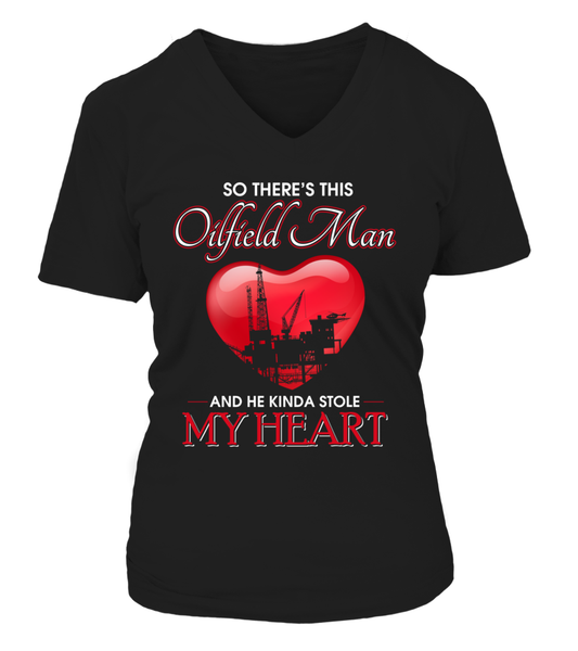 Oilfield Man Heart Shirt - Giggle Rich - 10