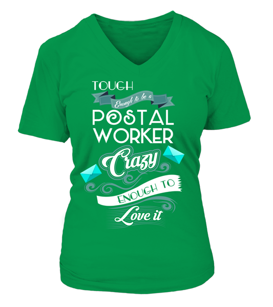 Tough Enough To Be A Postal Worker Shirt - Giggle Rich - 16