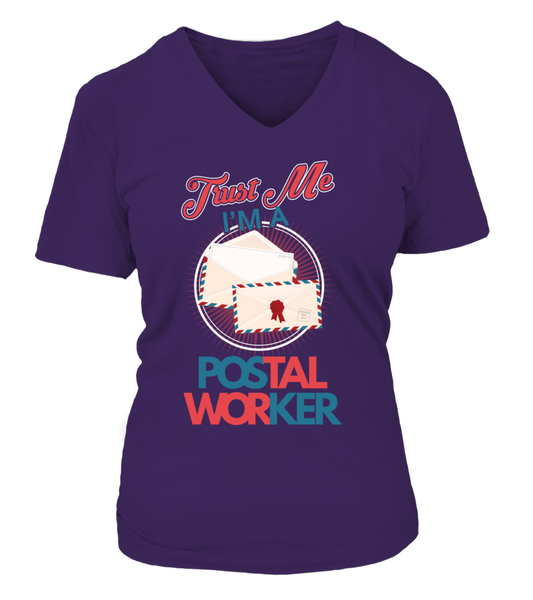 Trust Me I'M A Postal Worker Shirt - Giggle Rich - 6