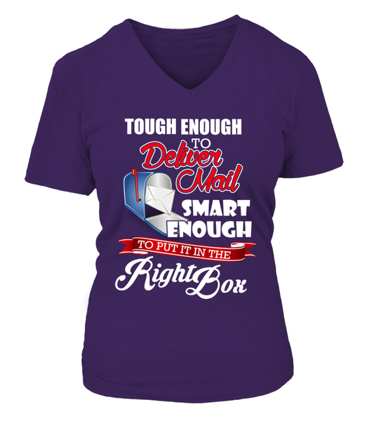 Tough Enough To Deliver Mail Shirt - Giggle Rich - 17