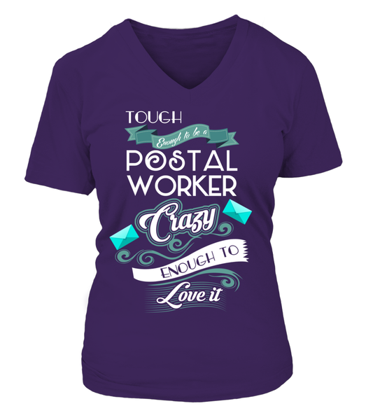 Tough Enough To Be A Postal Worker Shirt - Giggle Rich - 14